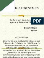 INCENDIOS FORESTALES CFB 25-8-2000