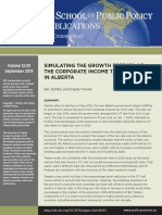 Alberta-CIT-Dahlby-Ferede GDP Growth Jobs Predictions