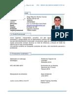 HV DIEGO GOMEZ-EKA-SUPERVISOR DE PRODUCCION