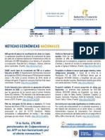 Boletín de Noticias Económicas Nª20