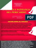 ANATOMÍA Y PATOLOGÍA DEL PERICARDIO