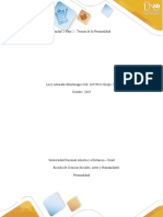 """""""Fases 2-Teorias de la Personalidad"""