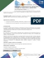 TRABAJO QUIMICA Informes quimica