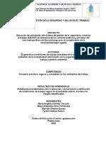 Informe programa S.A.S EMP.PROYECTO