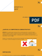 LA COMPETENCIA ADMINISTRATIVA(1).pptx