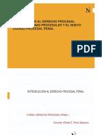 diapositivas DPP I SESION 1 - INTRODUCCION AL PROCESO PENAL Y SISTEMAS PENALES