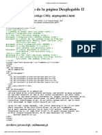 Código completo de Desplegable II