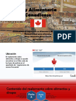 ley alimentaria canadiense