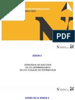 3 SESION ESTRATEGIAS DE ELECCION INTERMEDIARIOS CANAL DE DISTRIBUCION