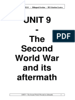 UNIT 9 The Second World War and its Aftermath