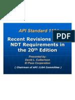 Cambios API1104