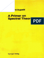 Aupetit- A Primer on Spectral Theory