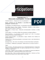 Participations N°1 Groupe V