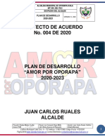 Proyecto de Acuerdo No 004. (01 Mayo 2020)