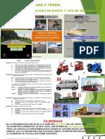 CLASE 03T CONSIDERACIONES DE DISEÑO Y TIPO DE VEHICULOS