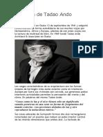 Biografía de Tadao Ando