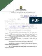 Lei Nº 46577- Introdução às normas do Direito Brasileiro