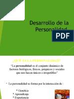 Desarrollo de la Personalidad (1)