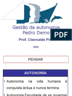 gestão da autonomia.ppt