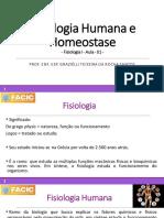 01 - Fisiologia Humana e Homeostase