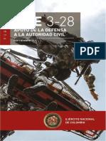 MFE 3-28 APOYO DE LA DEFENSA A LA AUTORIDAD CIVIL