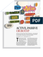 Liquid - Active or Passive