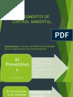 INSTRUMENTOS DE CONTROL AMBIENTAL