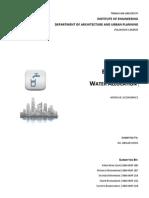 Economics of Water Supply