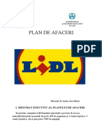Plan de afaceri Lidl