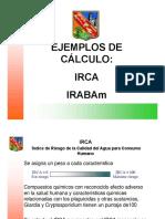 CALCULO DEL IRCA Y EL IRABAm