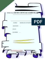 TRABAJO DE NORMAILDAD, TRANSFERENCIA DE DATOS Y PRUEBA DE HOMEGENEIDAD-FORESTAL_URBINA