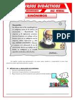 Ejercicios-de-Sinónimos-para-Tercero-de-Secundaria