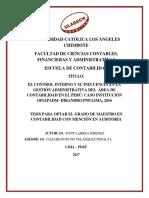 Area Contable Control Interno Larrea Jimenez Judit