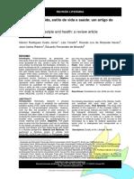 Qualidade de vida estilo de vida e saúde _ um artigo de revisao