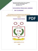 GUIA CORONAVIRUS - TRANSICION Y PRIMERO PDF