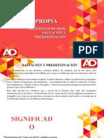 SALVACIÓN Y PREDESTINACIÓN.ppt