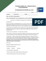 EXAMEN DIAGNOSTICO 2010 espanol