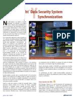 DATASECURITY SYSTEM SYNCHRONIZATION