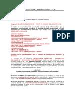 Constitución Sociedad Ltda