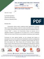 Solicitud de la ANEP ante delegaciones en mal estado