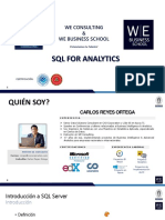 Workshop Virtual - SQL Server - WE Consulting