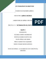 REPORTE 3 DE QUIMICA ORGANICA