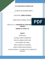 REPORTE 6 DE QUIMICA ORGANICA