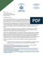 Senator Ortt urges Governor Cuomo in letter to intervene at Newfane Rehab