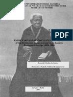 Entre farinhadas, procissões e famílias. A vida de homens e mulheres escravos em Lagarto, 1850-1888
