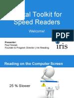 02 Digital Toolkit for Speed Readers