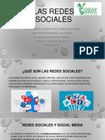 Las Redes Sociales Presentación Power Point