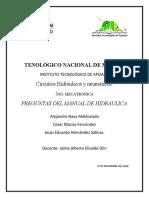Preguntas U4 Manual Hidraulica Eq5