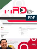 Cuadernillo Misión Robinson Digital (2016)
