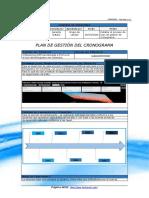 FGPR_030_01 - Plan de Gestión del Cronograma